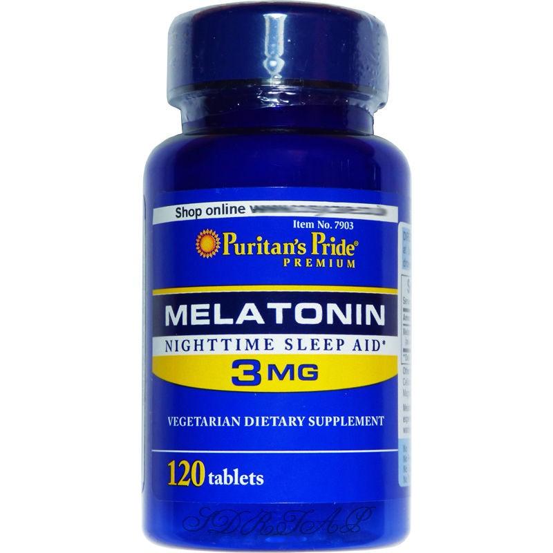 Melatonina 5mg x 120 tabletas