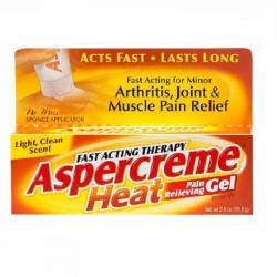 Aspercreme gel 2,50onzas analgésico